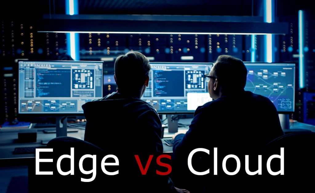 Edge Computing vs Cloud Computing